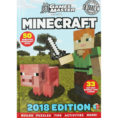 Games Master Minecraft Annual 2018, New Arrivals, Brand New