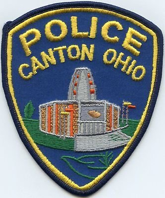 Canton Ohio Oh Police Patch