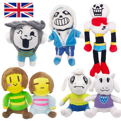 Undertale Papyrus Sans Temmie Soft Plush Toy Asriel Stuffed Doll Animal Gift New
