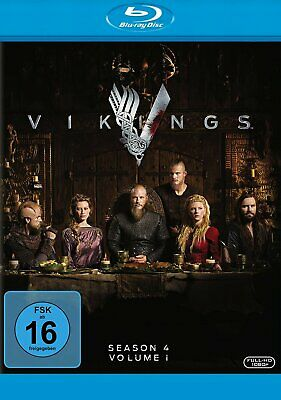 Vikings - Staffel/Season 4 / Volume 1 # 3-BLU-RAY-NEU