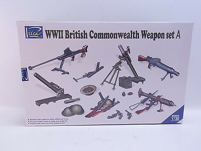 LOT 39167 | Riich RE 30010 WWII British Common.Weapon Set A 1:35 Bausatz NEU OVP