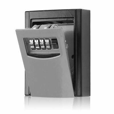 Outdoor Security Wall Mounted Key Safe Box Code Combination Secure Lock Storage