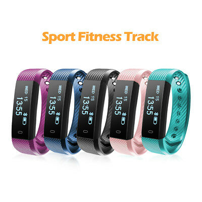 Smart Activity Fitness Tracker Fit Wristband Watch Android iPhone Sleep  Monitor