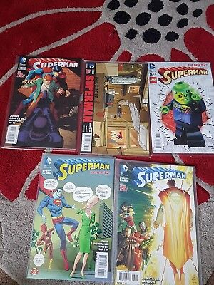 Superman 36-40 Romita Jr. Inc Some Variants