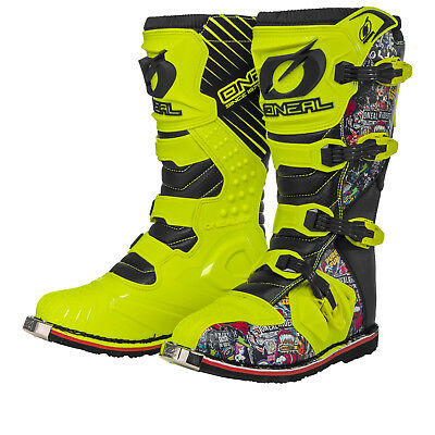 Oneal Rider EU Crank Motocross Boots O'Neal Off Road Enduro Quad ATV All Sizes