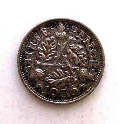 Great Britain Uk Coins, Threepence 1936, George V, Silver 0.500