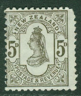 New Zealand. 1891. SSF. 5d. Original Issue. MH.