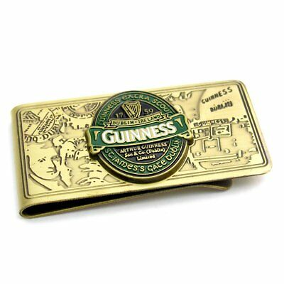 Guinness Beer Ferma Soldi Oro Money Clip PS 09204