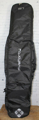 New FiveForty Snowboard Bag with Backpack Straps 157 Black 540