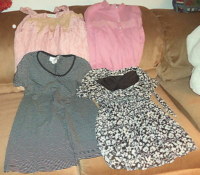 Lot of 4  Size S Maternity Tops By Mimi, Motherhood & More