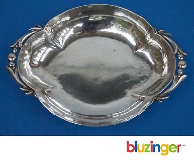 CELLINI SHOP Hand Wrought Sterling Silver Bowl Jensen Design
