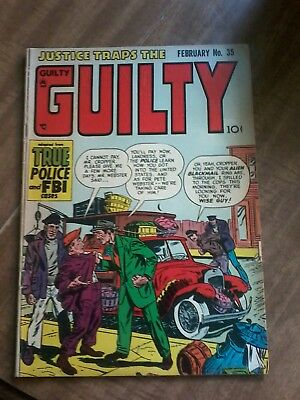 #35 Justice Traps The Guilty 1952