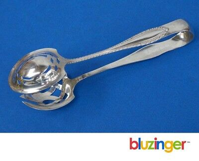 TOWLE SILVERSMITHS Sterling Silver Pierced Serving Tongs