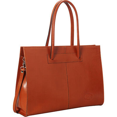 Sharo Leather Bags Women's Genuine Leather Laptop Tote Women's Business Bag NEW