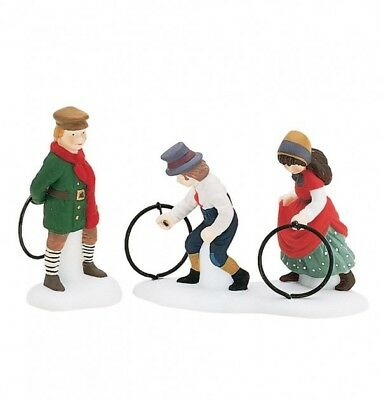 """Dept. 56 Dickens' Village  Accessory """"CHILD'S PLAY"""" ~ Set of 2 ~ MIB~ Retired"""