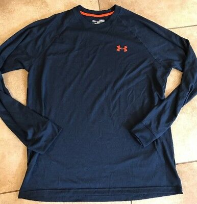 Under Armour Mens Heat Gear Loose Fit Shirt Nice! Size M