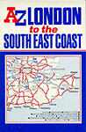 London to the South East Coast Map (Road Maps), Geographers' A-Z Map Company | M