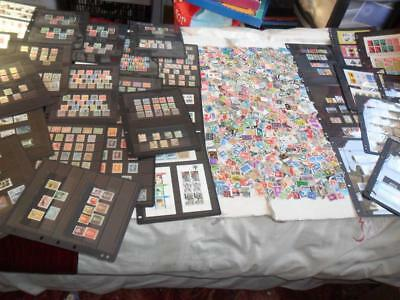 LARGE NETHERLANDS COLLECTION + OFF PAPER KILO.(100s)+ MIN.SHEETS + COVERS+MORE