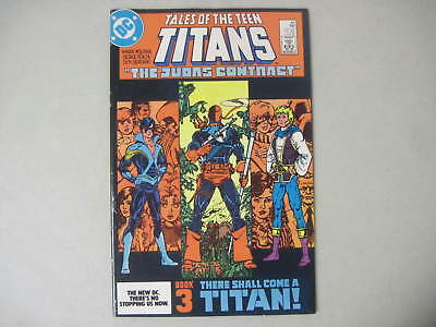 Tales Of The Teen Titans #44 Dc 1St App. Nightwing 1984 Deathstroke Jericho