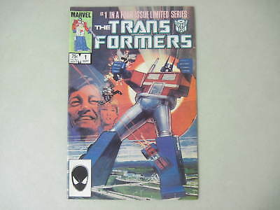 The Transformers #1 September 1984 Marvel Comics First Issue! Sienkiewicz Cover