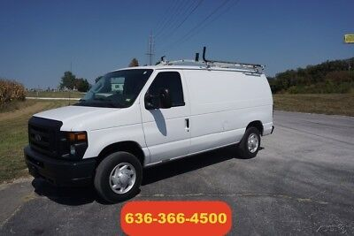 2009 Ford E-Series Van Commercial 2009 Commercial Used 4.6L V8 16V Automatic Van cargo work service van