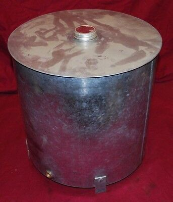 5 To 7 Hp Galloway Gas Engine Motor  Fuel Gas Tank