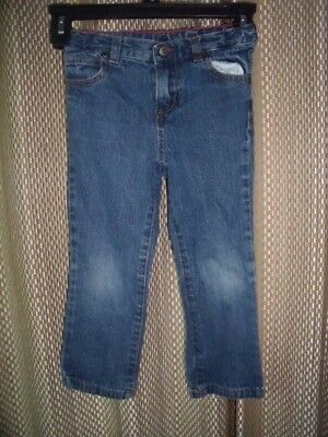 Toddler Girl's Faded Glory Brand Blue Denim Jeans Size 4T