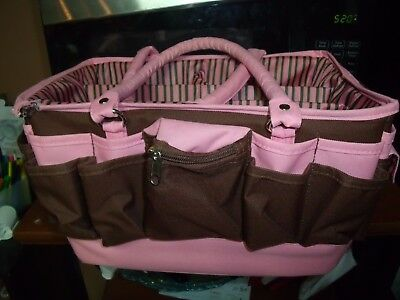 Home / Other Pink and Brown Tote Bag Organization