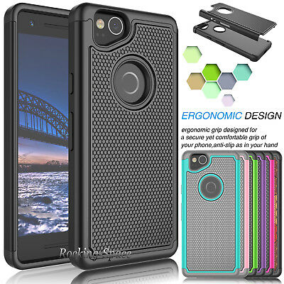 For Google Pixel 2 2017 Phone Case Hybrid Shockproof Armor Impact Hard Cover
