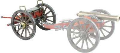 "Denix Civil War Miniature Limber 07-492 Use with Cannons or Gatling Guns. 12"" ov"