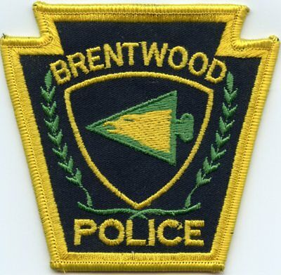 Brentwood Pennsylvania Pa Police Patch