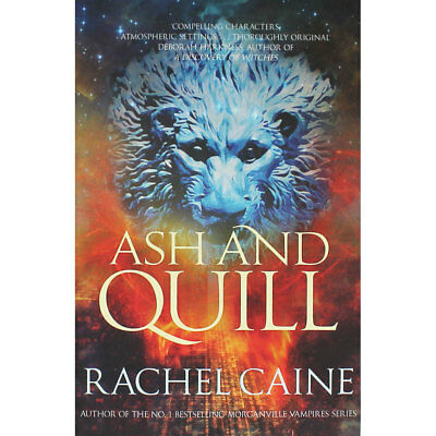 Ash And Quill by Rachel Caine (Paperback), New Arrivals, Brand New