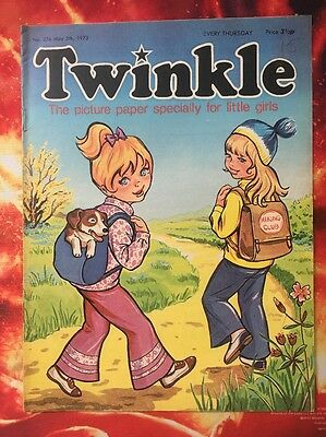 Twinkle  Comic No. 276. 5 May 1973. Lovely Condition. Puzzles Not Done. Vfn