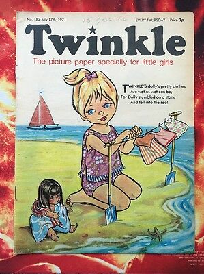 Twinkle  Comic 17 July 1971 Vfn. Dorothy & The Wizard Of Oz. Puzzles Not Done.