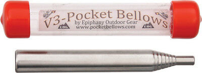 Epiphany Outdoor Gear V3-Pocket Bellows V3-01B Collapsible Fire Bellowing Tool.