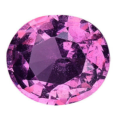 0.980Cts Prosperous Stunning Beautiful Luster Pink Purple Natural Sapphire Oval