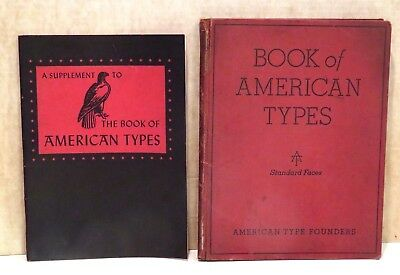 American Type Founders-Book of American Types-1934-with 1941 Supplement
