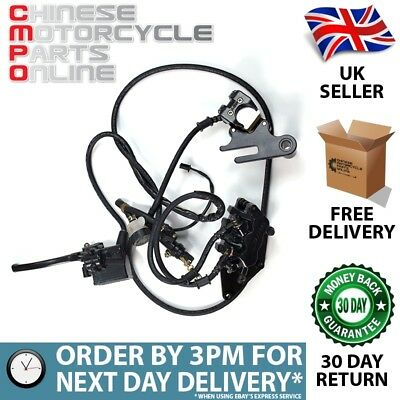 Rear Brake System Complete for Lexmoto Valiant 125 EFI XF125R-E4 (RBSCP001)