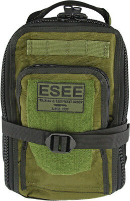 "ESEE Survival Bag Pack OD Green Knife SURVIVAL-BAG Measures 8"" wide x 12"" high x"