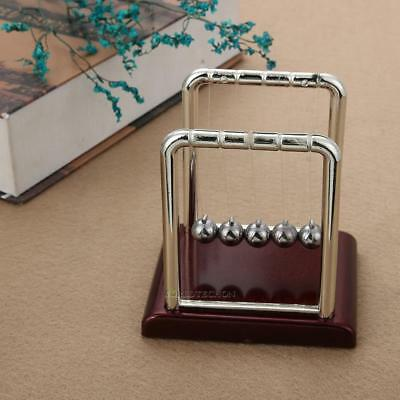 Newton's Cradle Steel Balance Ball Physics Science Magnetic Pendulum Desk Toy