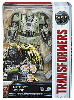 Transformers The Last Knight Premier Edition Voyager Hound