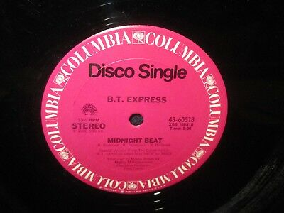 "B.T. Express ""Midnight Beat.Let Me Be The One"" 12"" Single"