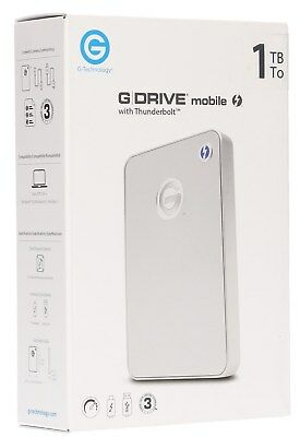 G-Tech 1TB G-DRIVE mobile Thunderbolt/USB 3.0 Hard Drive