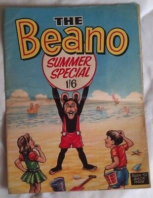 The Beano comic Summer Special 1968. Good condition