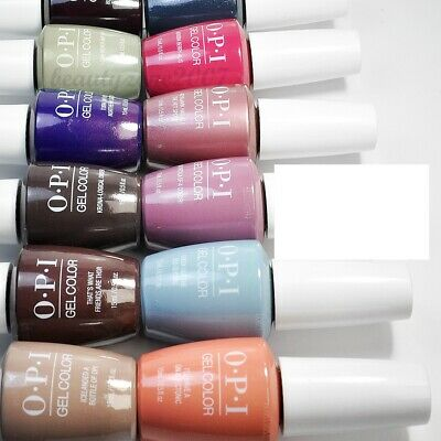 "OPI GelColor UV/LED Soak off Gel Color Iceland Collection 0.5oz ""Choose Any 1"""