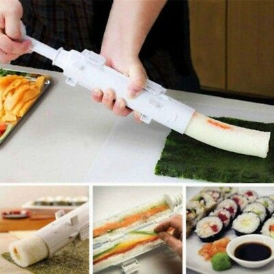Bazooka Sushi Roller Kit Made Easy All In 1 Making Machine Includes Tube plunger