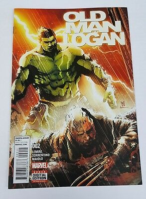 Old Man Logan #2 Ongoing Series 1st Print Marvel 2016 VF