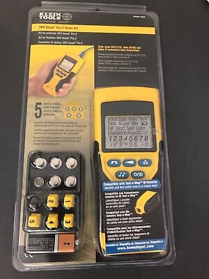 Klein Tools VDV Scout Pro 2 Tester Kit   NEW IN PACKAGE!! - VDV501-823R