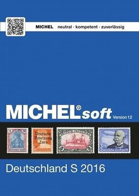 MICHELsoft Briefmarken Deutschland S 2016 - Version 12