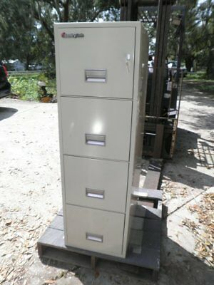 Sentry SentrySafe 4T2500 Vertical 4-Drawer Fireproof Fire File Filing Cabinet
